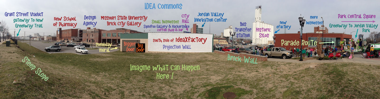ideaXfactory in IDEA Commons panorama map