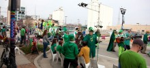 Outside Observations during St. Patrick's Day Parade