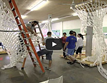 Knitting Space installation video