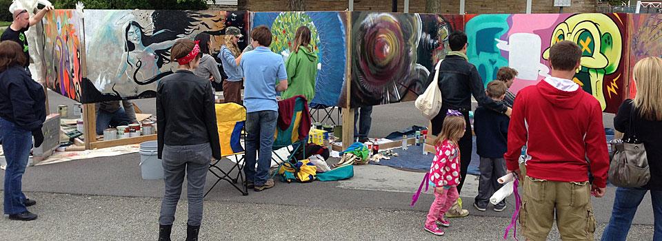 Live Art at Artsfest