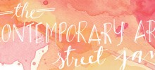 Contemporary Art Street Jam coming soon on July 5-6