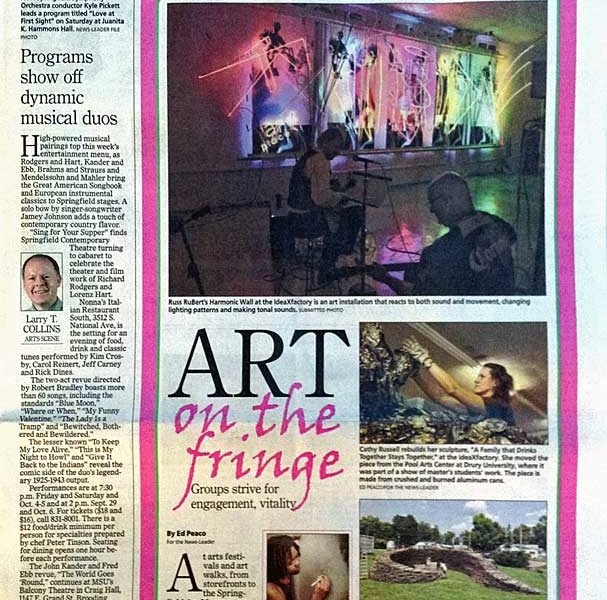 Fringe Art featured in News-Leader