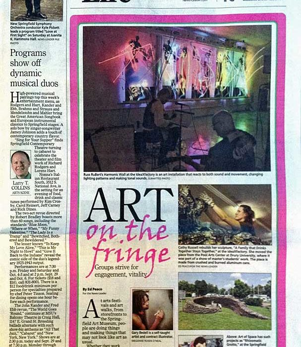 'Art on the Fringe' featured in the Springfield News-Leader