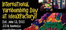 International Yarnbombing Day at ideaXfactory