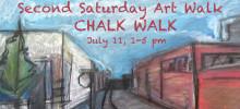 Second Saturday Chalk Walk
