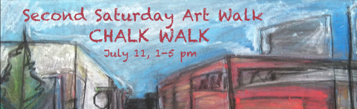 Second Saturday Chalk Walk