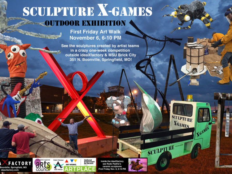 Sculpture X-Games Outdoor Exhibition