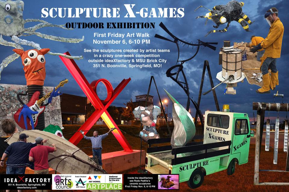 Sculpture X-Games Outdoor Exhibition