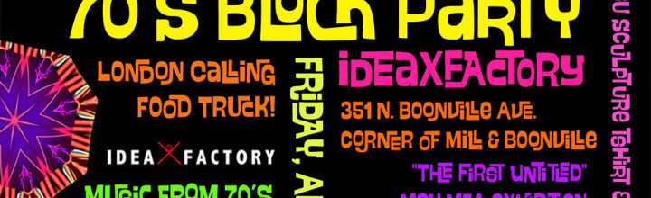 70's Block Party at ideaXfactory & Brick City Galleries