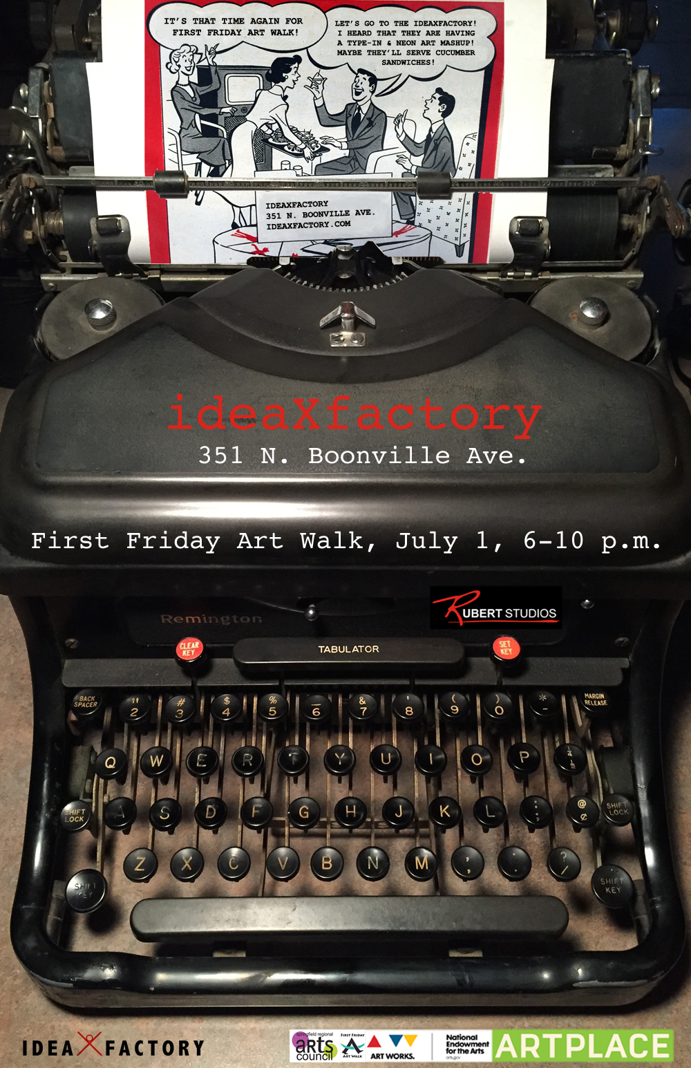 First Friday at ideaXfactory on July 1