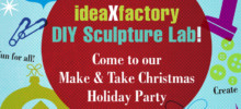 Make & Take Christmas Holiday Party on Dec. 10