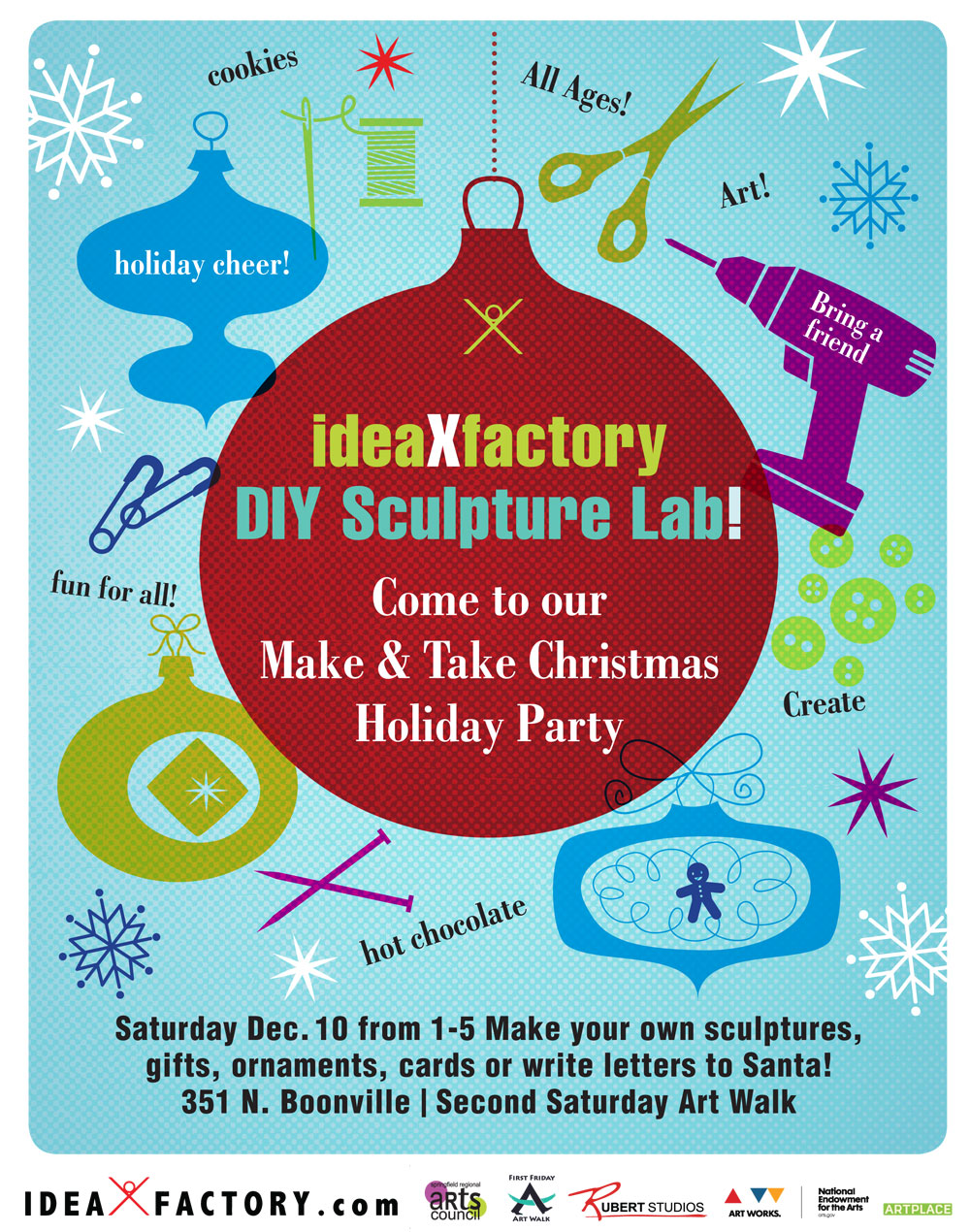Make & Take Christmas Holiday Party
