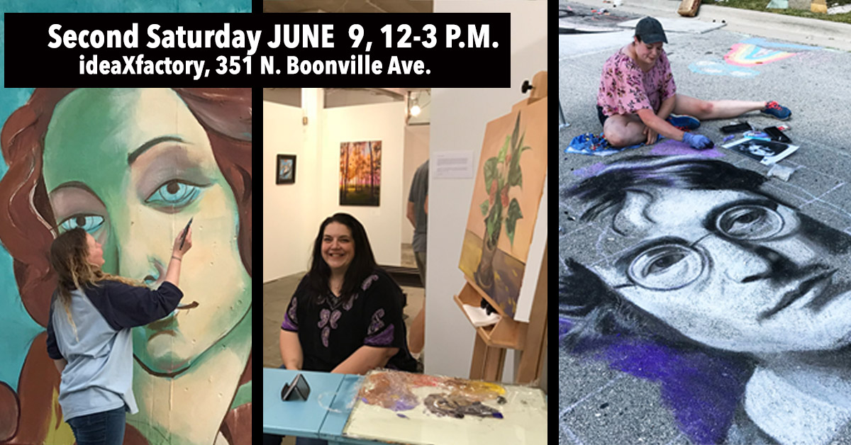 Second Saturday Art Walk on June 9 from 12-3 p.m.
