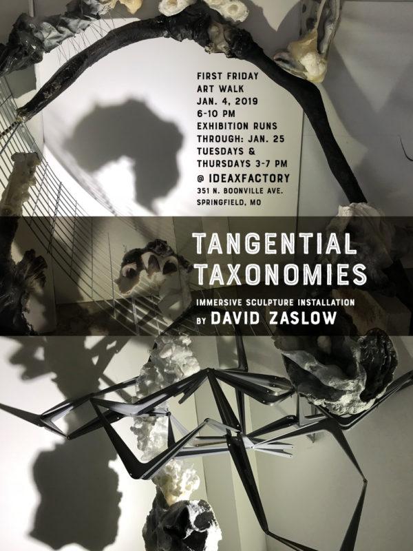 David Zaslow Artist Talk & Closing Reception on Jan. 25
