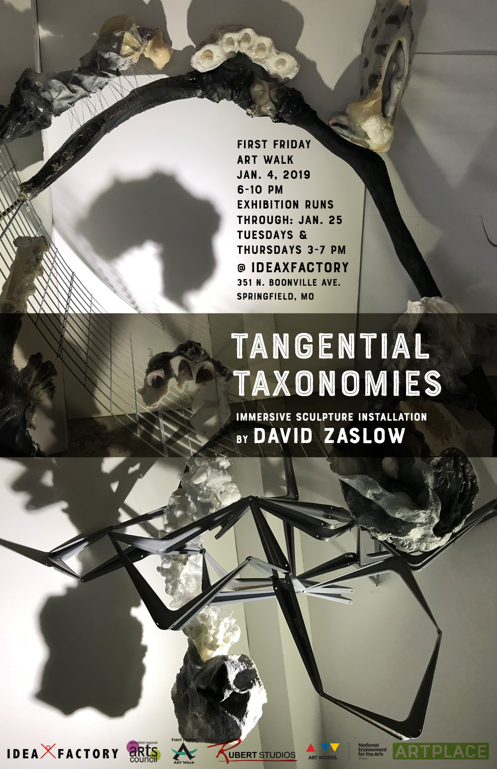 David Zaslow Artist Talk & Closing Reception on Jan. 25